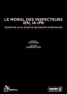 moral des inspecteurs couv