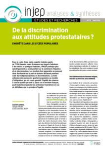 De la discrimination aux attitudes protestaires
